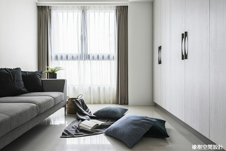 غرفة نوم تنفيذ 橡樹設計Oak Design