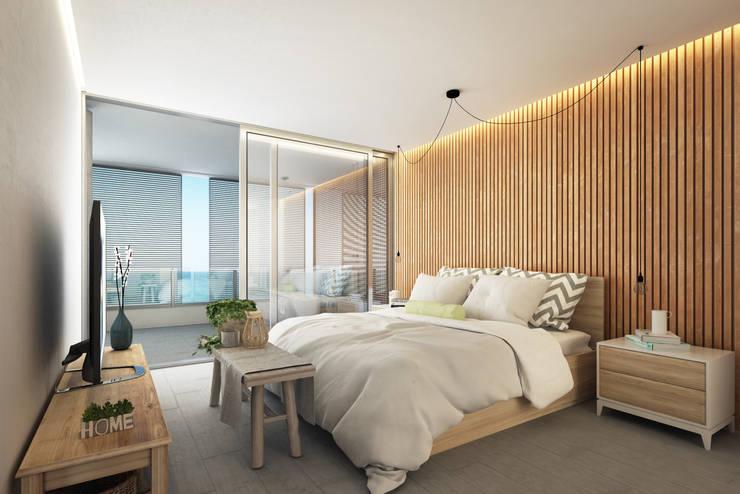 Interiores 3D - 4:  de estilo  por 3dkuviqa studio,