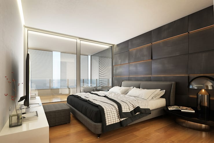 Interiores 3D – 4:  de estilo  por 3dkuviqa studio,