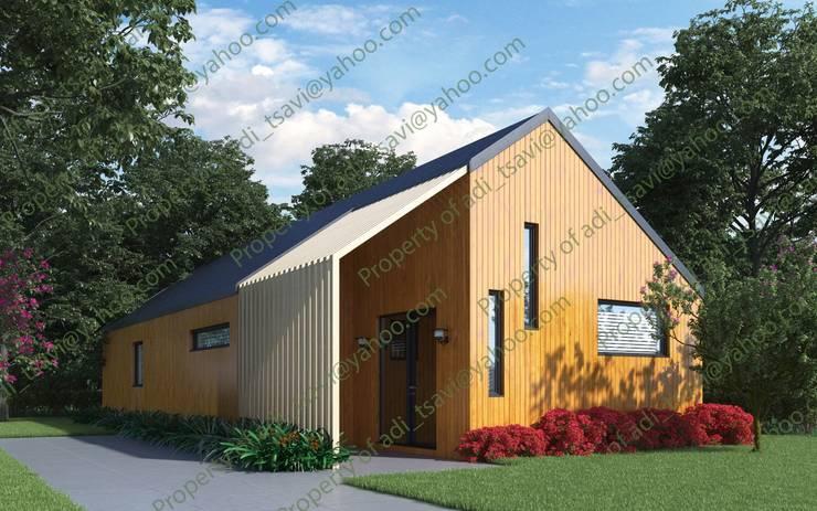 Cedar Longhouse by Abodde:   by Abodde Housing,