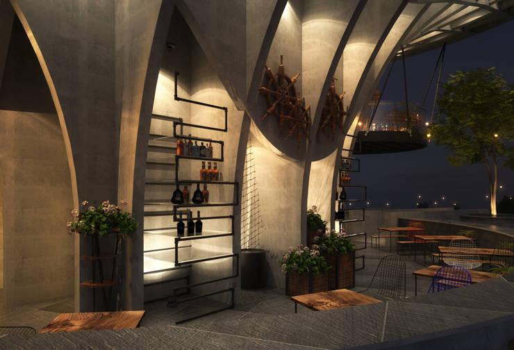 KHU CẢNH QUAN HILTON:  Khách sạn by NT.DESIGN