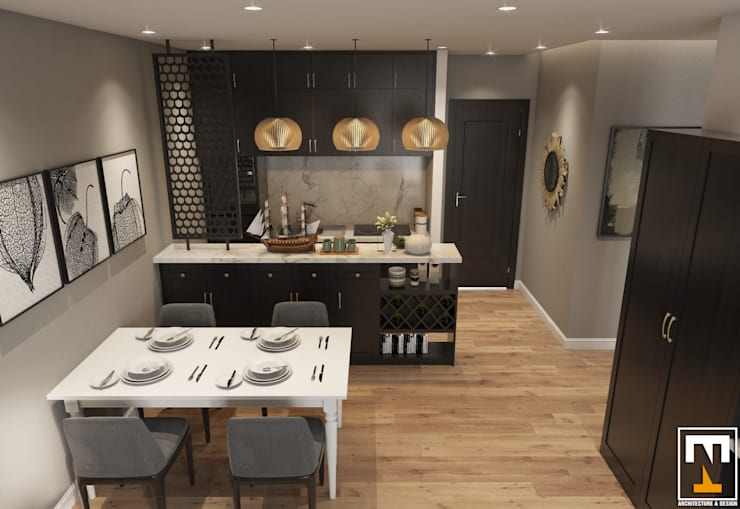 Dining room by NT.DESIGN