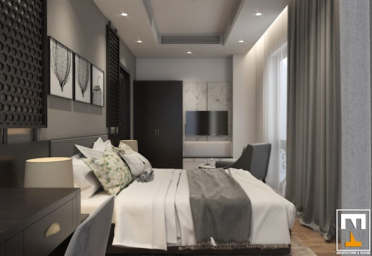 Bedroom by NT.DESIGN