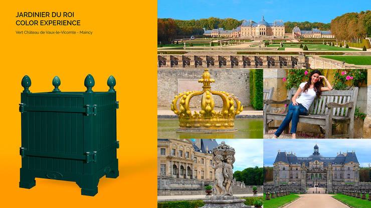 Jardinier du Roi, Versailles planter dark green Chateau de Vaux Le Vicomte, France:  Garden  by Jardinier du Roi
