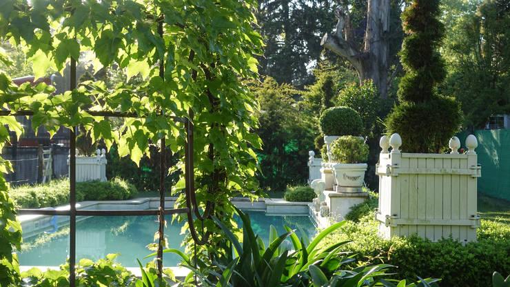 Jardinier du Roi, Versailles planters, pool project for Hotel Boutique Haras de Charme, Buenos Aires, Argentina: classic Pool by Jardinier du Roi