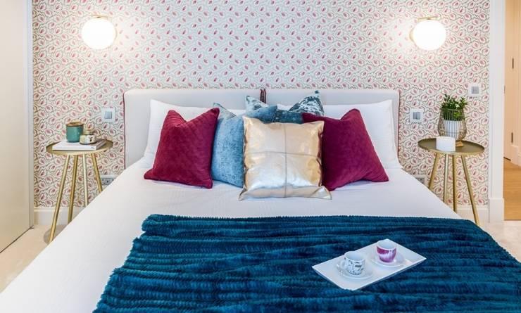 Спальни в . Автор – Hampstead Design Hub