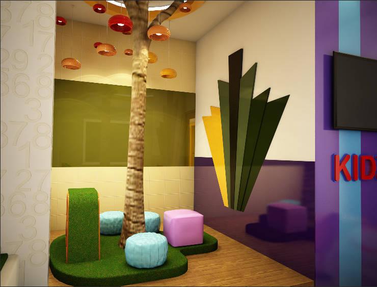 Kids Play Area:  Schools by Rhomboid Designs