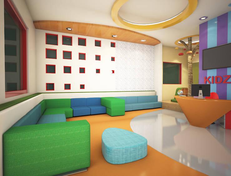 Kidzee School Karnal:  Schools by Rhomboid Designs