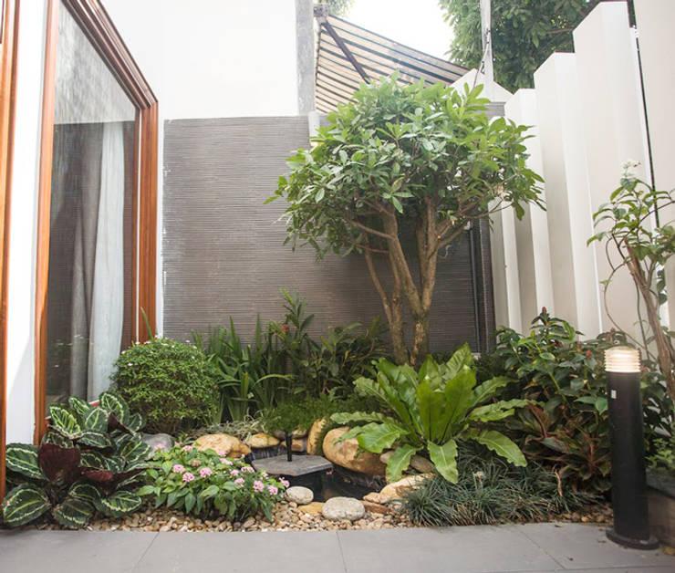 Thiết kế mảng xanh từ sân vườn:  Sân trước by Công ty TNHH Xây Dựng TM – DV Song Phát
