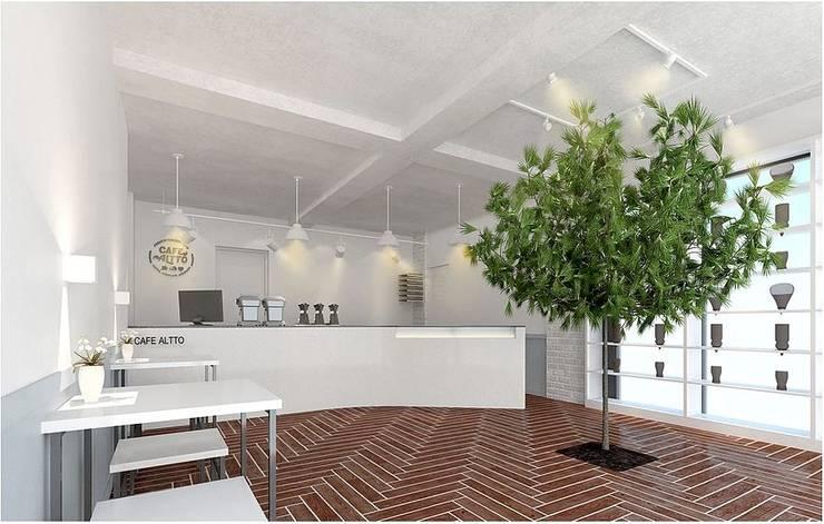 Cafe Altto: 커스텀디자인의  바 & 카페