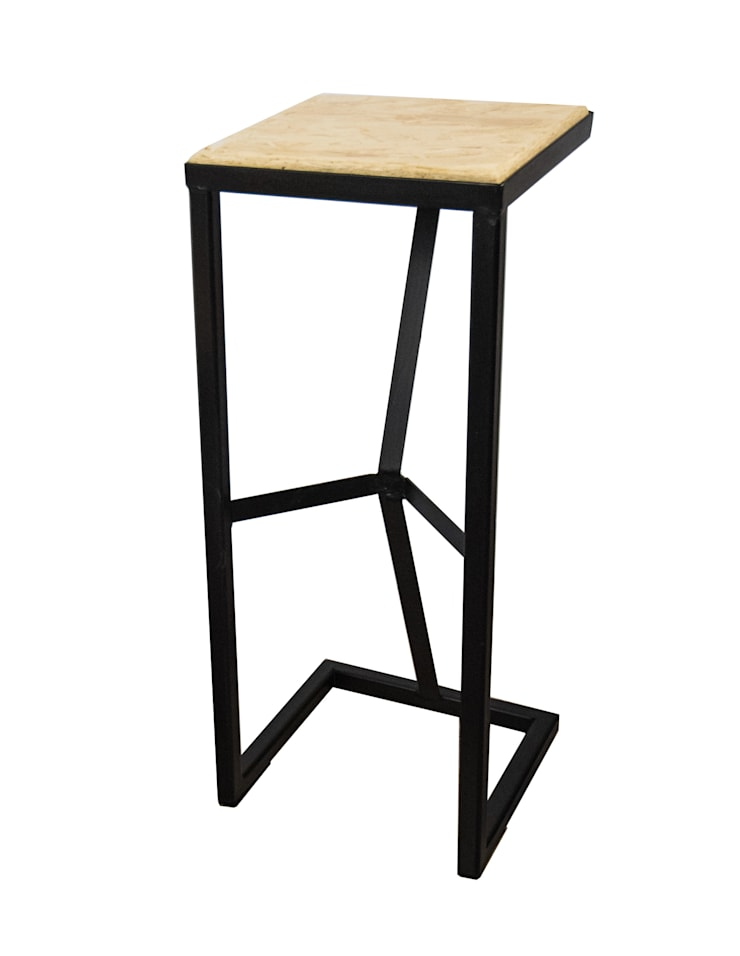Tetra Steel Bar Stool 750mm: industrial Dining room by SPRUE Limited