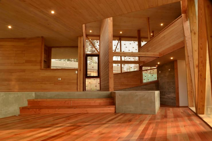 Living: Livings de estilo  por PhilippeGameArquitectos