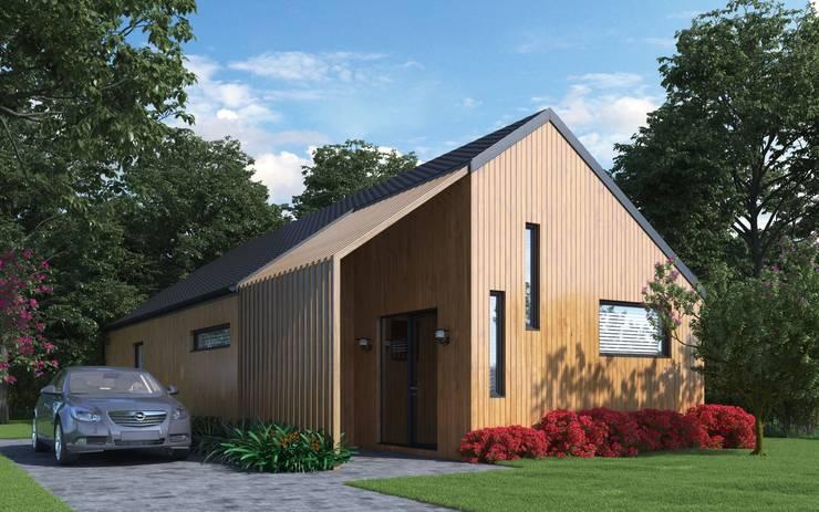 Brand new Cedar Longhouse by Abodde:   by Abodde Housing,