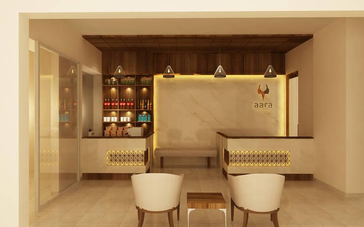 Business Class Hotel—Uganda:  Study/office by Aurazia Design Studio