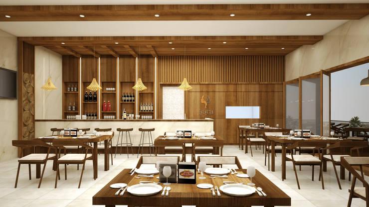 Business Class Hotel—Uganda:  Kitchen by Aurazia Design Studio