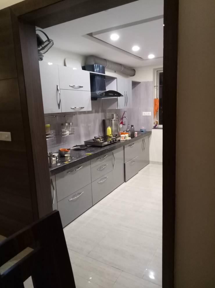 modern Kitchen by SpaceedgeInterior