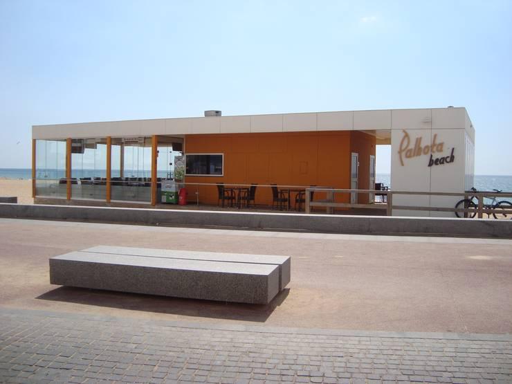 Mediterrane Gastronomie von EC-BOIS Mediterran Holz-Kunststoff-Verbund