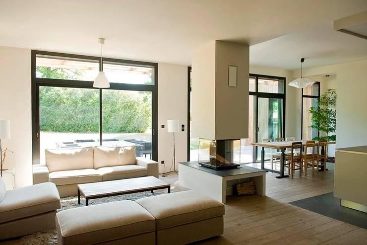 Living room by EC-BOIS