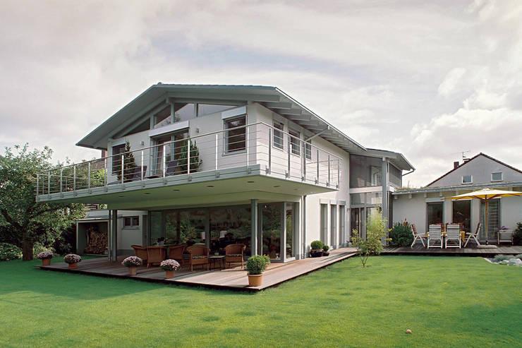 Projekty,  Dom jednorodzinny zaprojektowane przez Grotegut Architekten