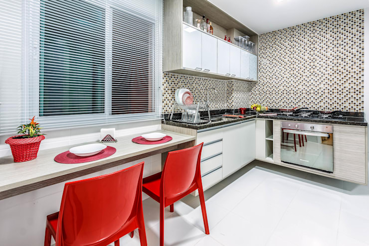 廚房 by DUE Projetos e Design