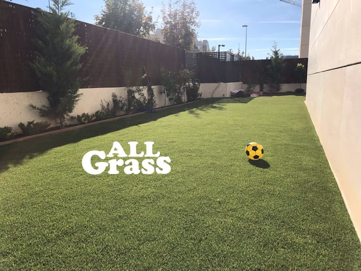 Jardines de estilo minimalista por Allgrass Solutions