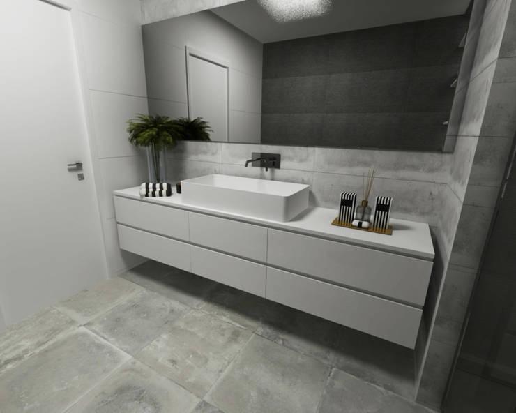 Casas de banho - Smile Bath: Casas de banho minimalistas por Smile Bath S.A.