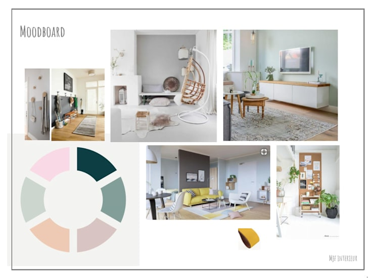 Moodboard:   door MJF Interieur