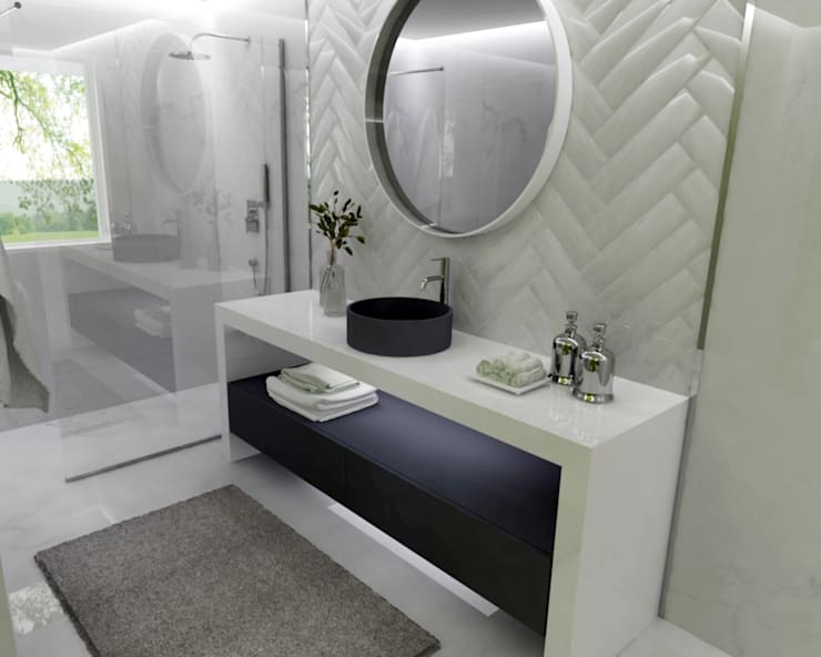 Casas de banho - Smile Bath: Casas de banho rústicas por Smile Bath S.A.