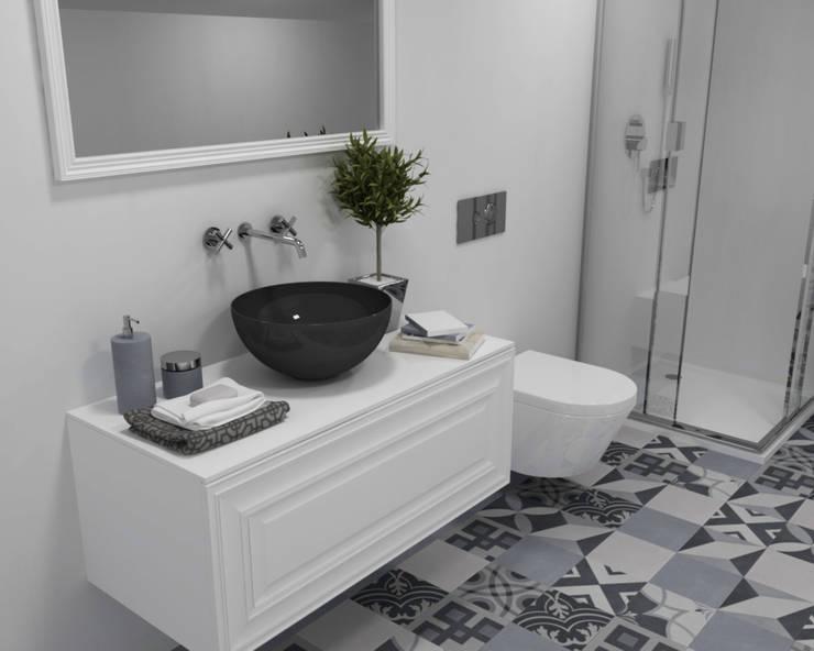 Casas de banho - Smile Bath: Casas de banho ecléticas por Smile Bath S.A.