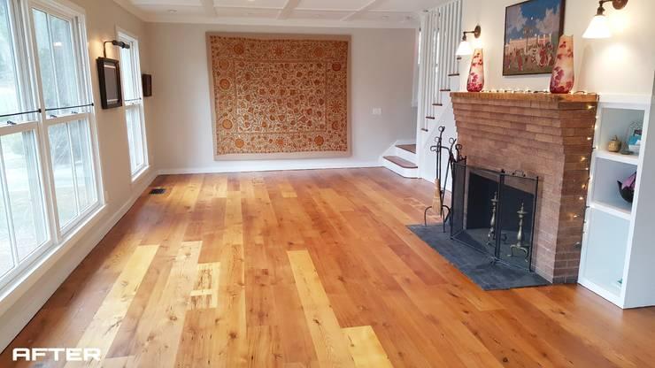 Living room by Shine Star Flooring