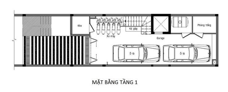 獨棟房 by Công ty TNHH Thiết Kế Xây Dựng Song Phát