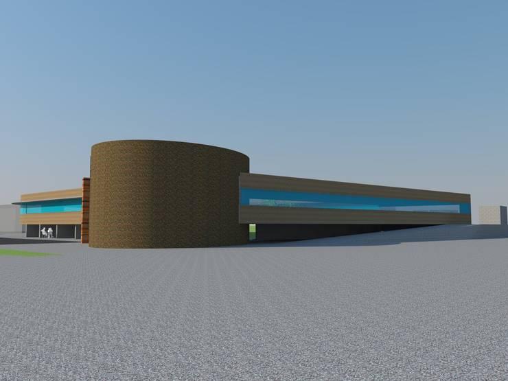 우측면: 루아건축사사무소의