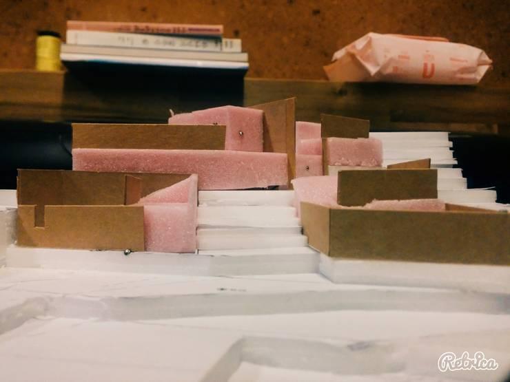 남해 팬션: 루아건축사사무소의  ,