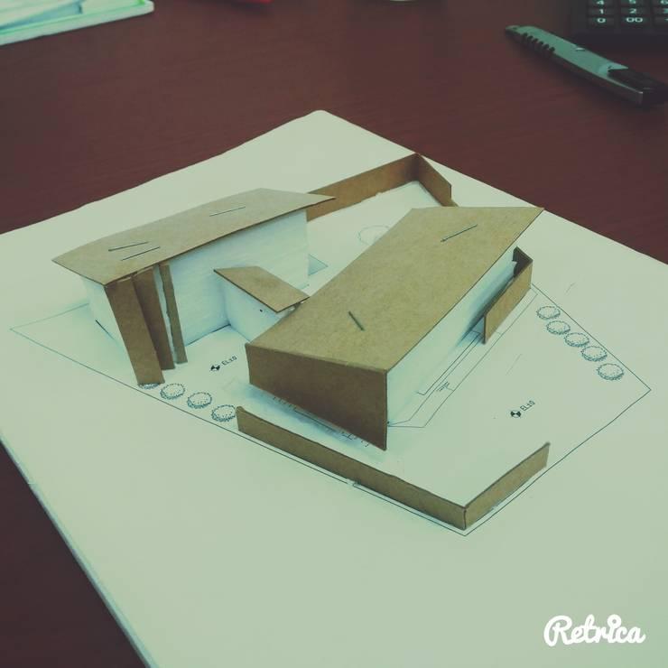 고산 주택: 루아건축사사무소의  ,