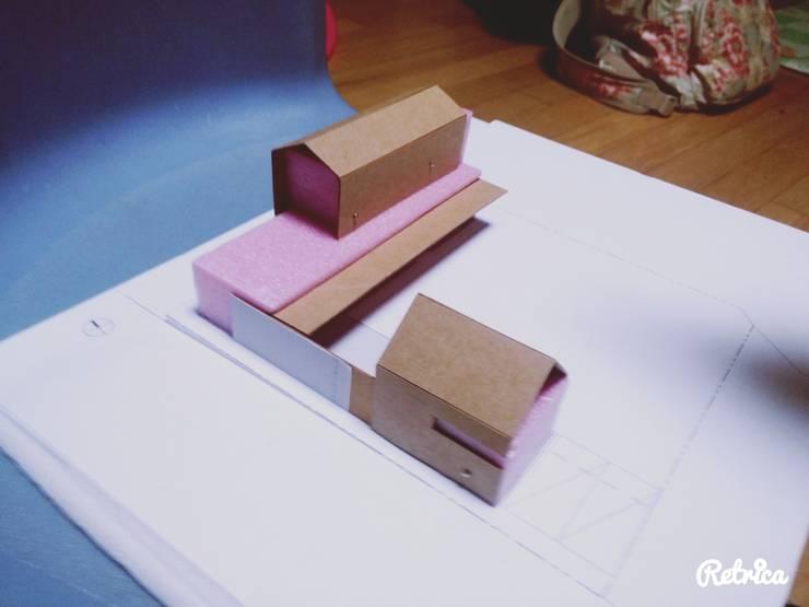 금산 별무리: 루아건축사사무소의 현대 ,모던