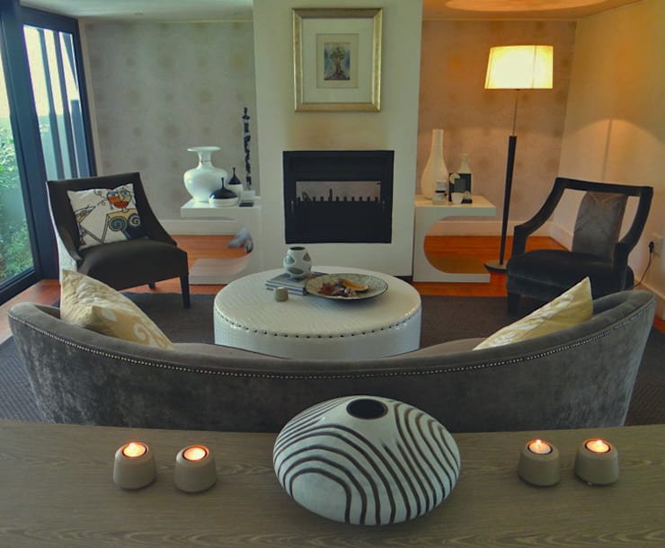 modern Living room by Simply Living Online