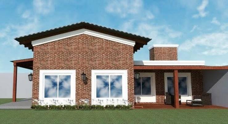 Vivienda Unifamiliar : Casas de estilo  por M2 Arquitectura,
