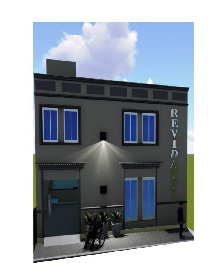 Rehabilitación y puesta en valor de fachada : Casas de estilo  por M2 Arquitectura,