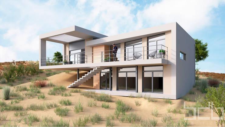 Vista Duna:  de estilo  por BDB Arquitectura