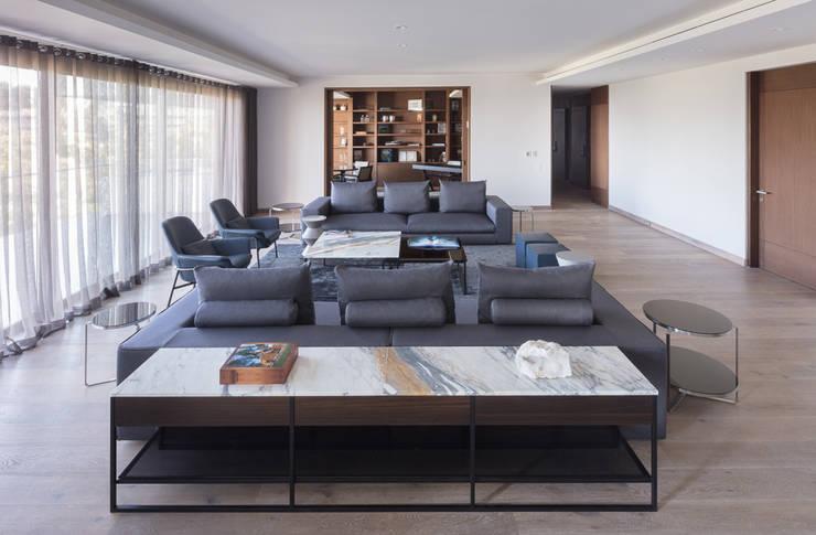 Salones de estilo  de Concepto Taller de Arquitectura