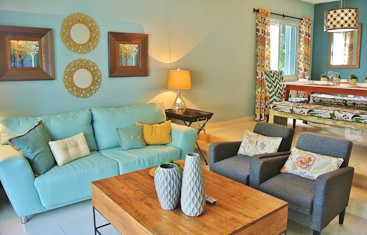 The Perfect Caribbean Retreat (2014):  Stairs by James Grey Interiors,Eclectic