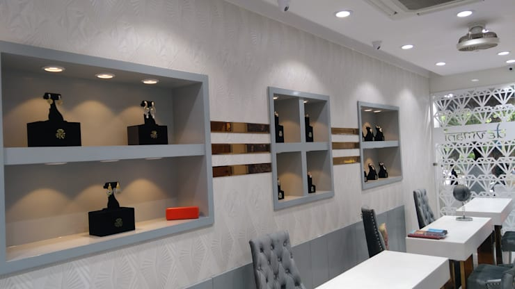 Devmani:  Commercial Spaces by IMAGIC INTERIORS,Minimalist MDF