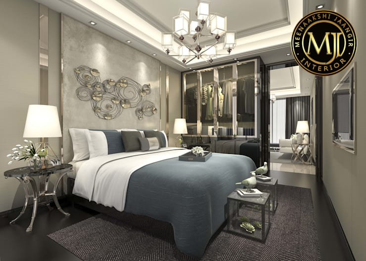 MJI Project:  Bedroom by Interior Styling by MJI