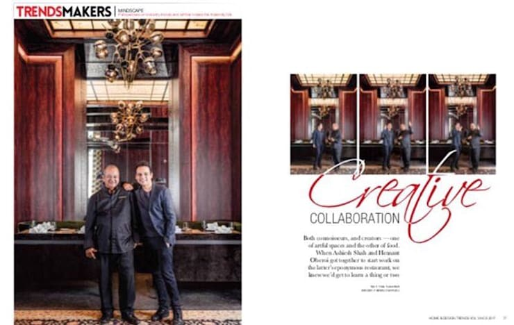 Hemant Oberoi Restaurant - Lighting:  Bars & clubs by Jainsons Emporio
