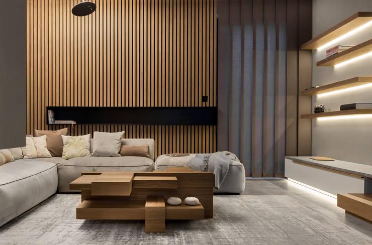 โดย formativ. indywidualne projekty wnętrz โมเดิร์น ไม้ Wood effect