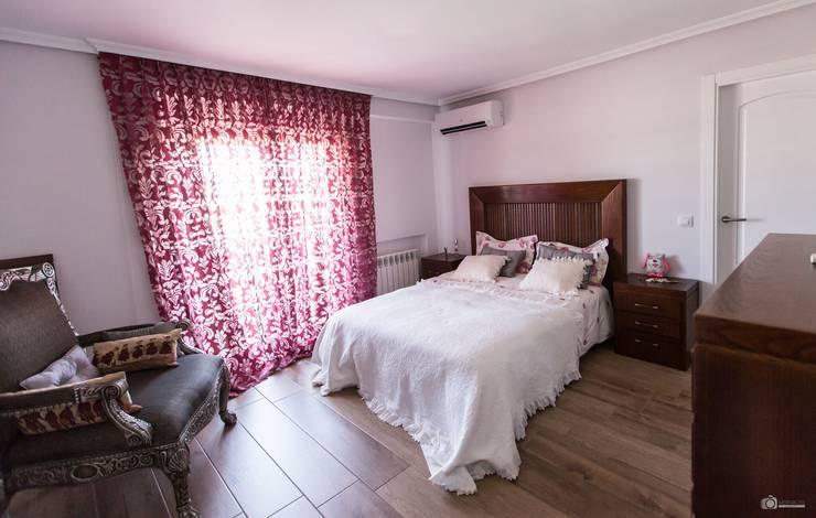 Reforma de dormitorio Torrejón por Vivienda Sana: Dormitorios de estilo  de Vivienda Sana