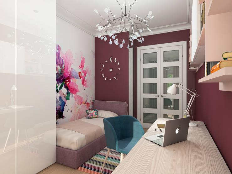 غرفة نوم بنات تنفيذ Clarte Design