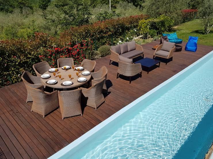 Projekty,  Ogród zaprojektowane przez Uniko