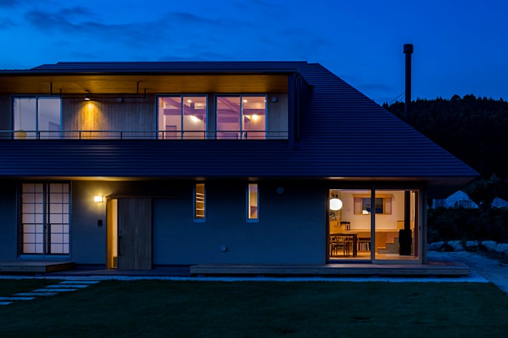 Rumah kayu by 中山大輔建築設計事務所/Nakayama Architects