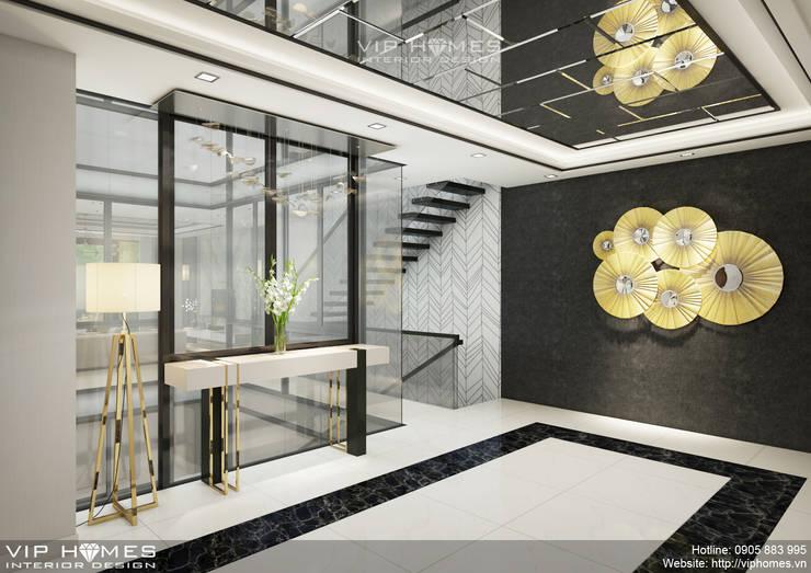 Thiết kế nội thất biệt thự theo phong cách hiện đại:   by Công ty TNHH Không Gian Mo